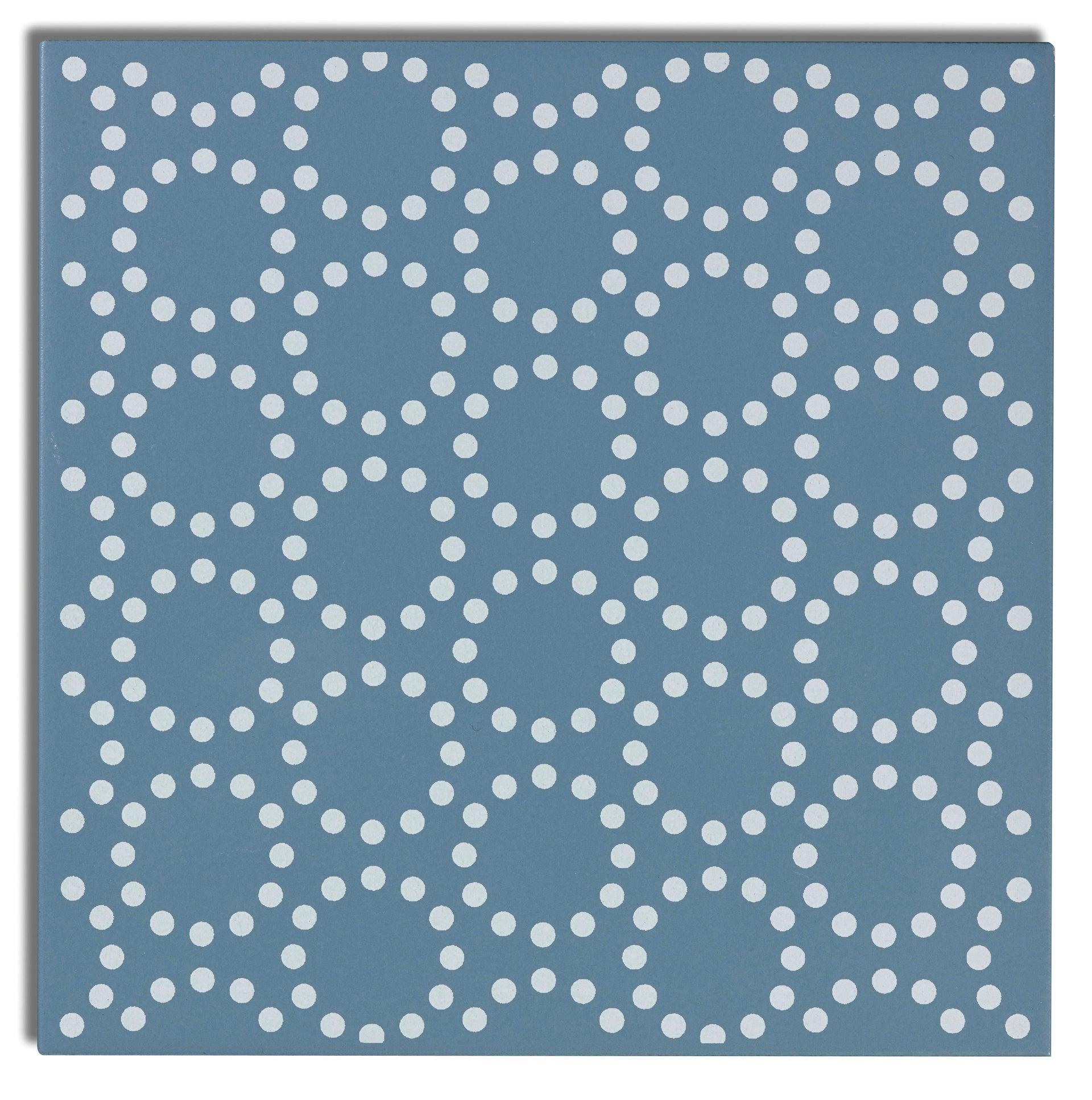 Piastrella decorativa Astuce 20 x 20 cm sp. 6.5 mm blu - 5