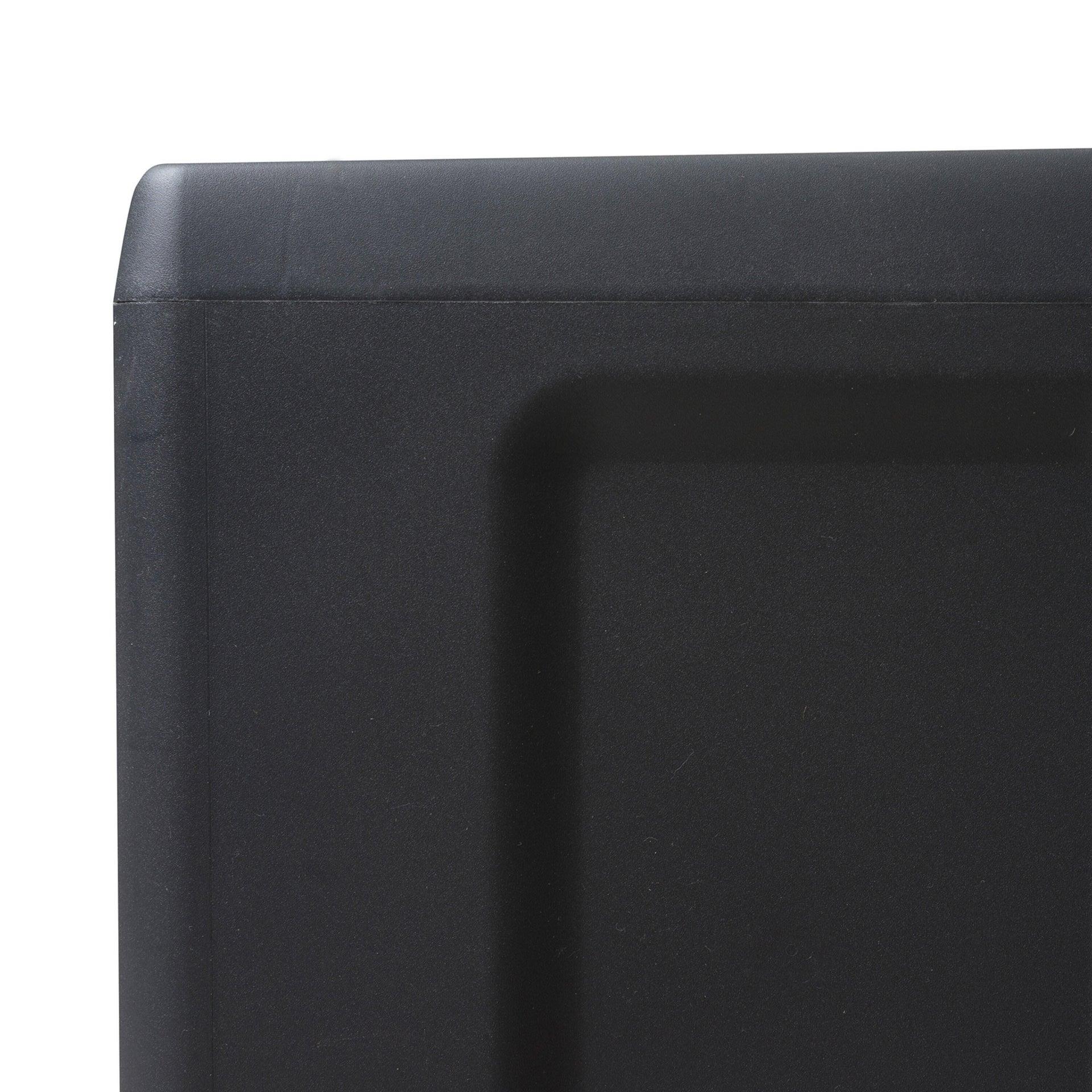 Armadio Elegance L 65 x P 38 x H 171 cm grigio e nero - 19