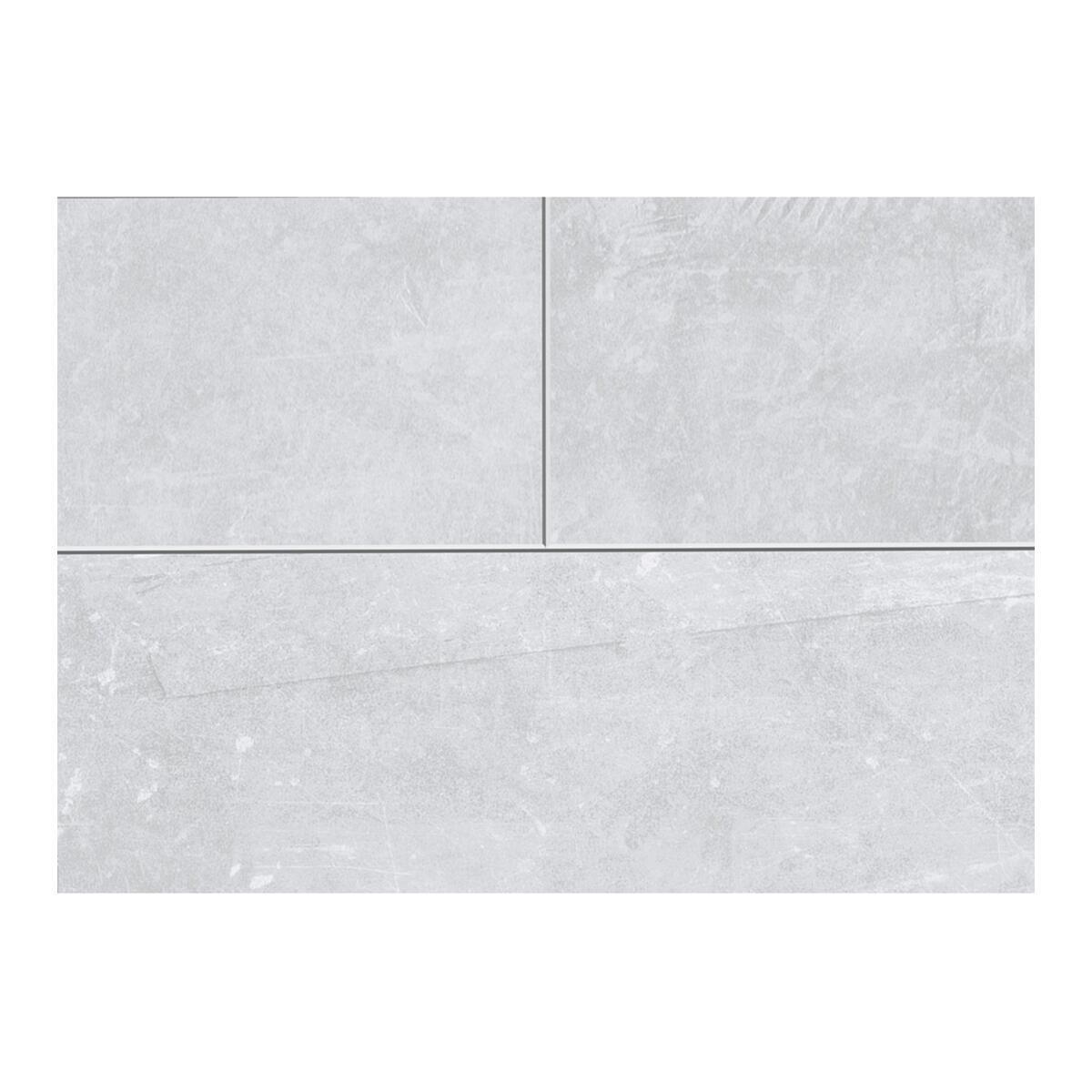 Pavimento SPC flottante clic+ Sp 4 mm grigio / argento - 4