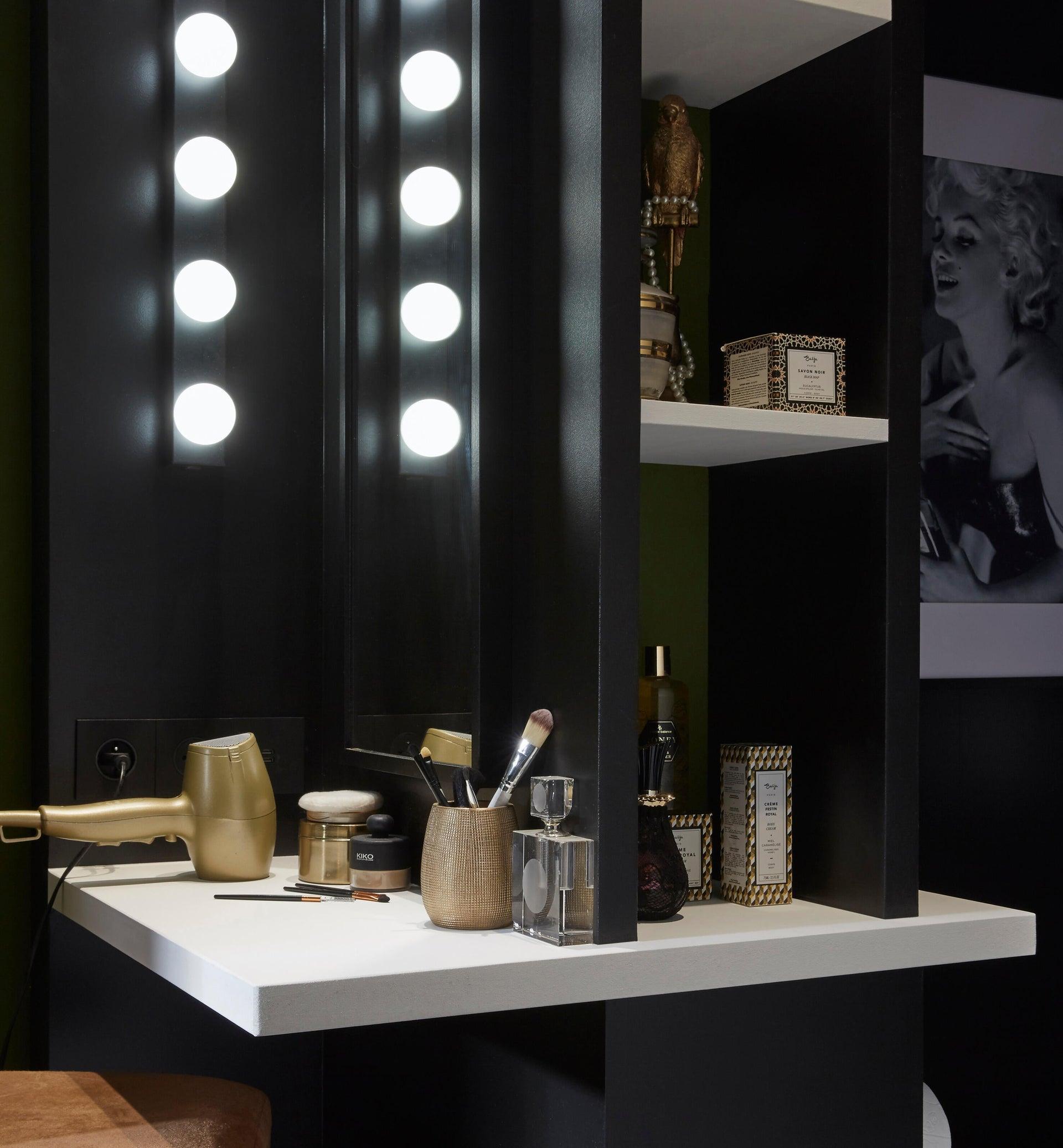 Applique moderno Smila LED integrato nero, in metallo, 60x60 cm, 5 luci INSPIRE - 5