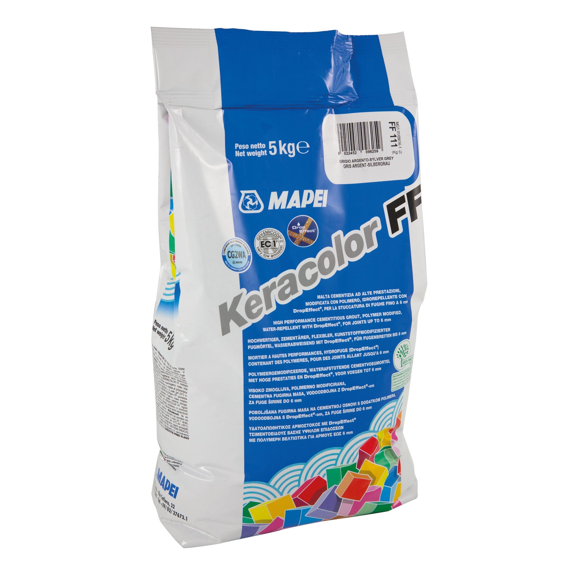 Stucco in polvere Keracolor FF MAPEI 5 kg bianco