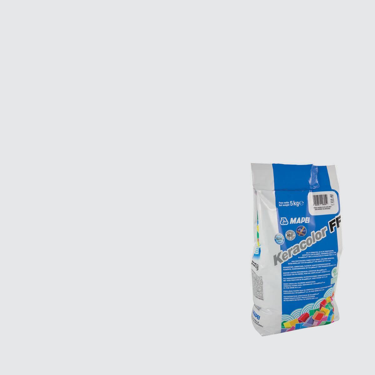 Stucco in polvere Keracolor FF MAPEI 5 kg grigio chiaro
