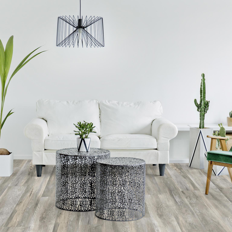 Pavimento PVC adesivo Romance Sp 2.5 mm grigio / argento - 4