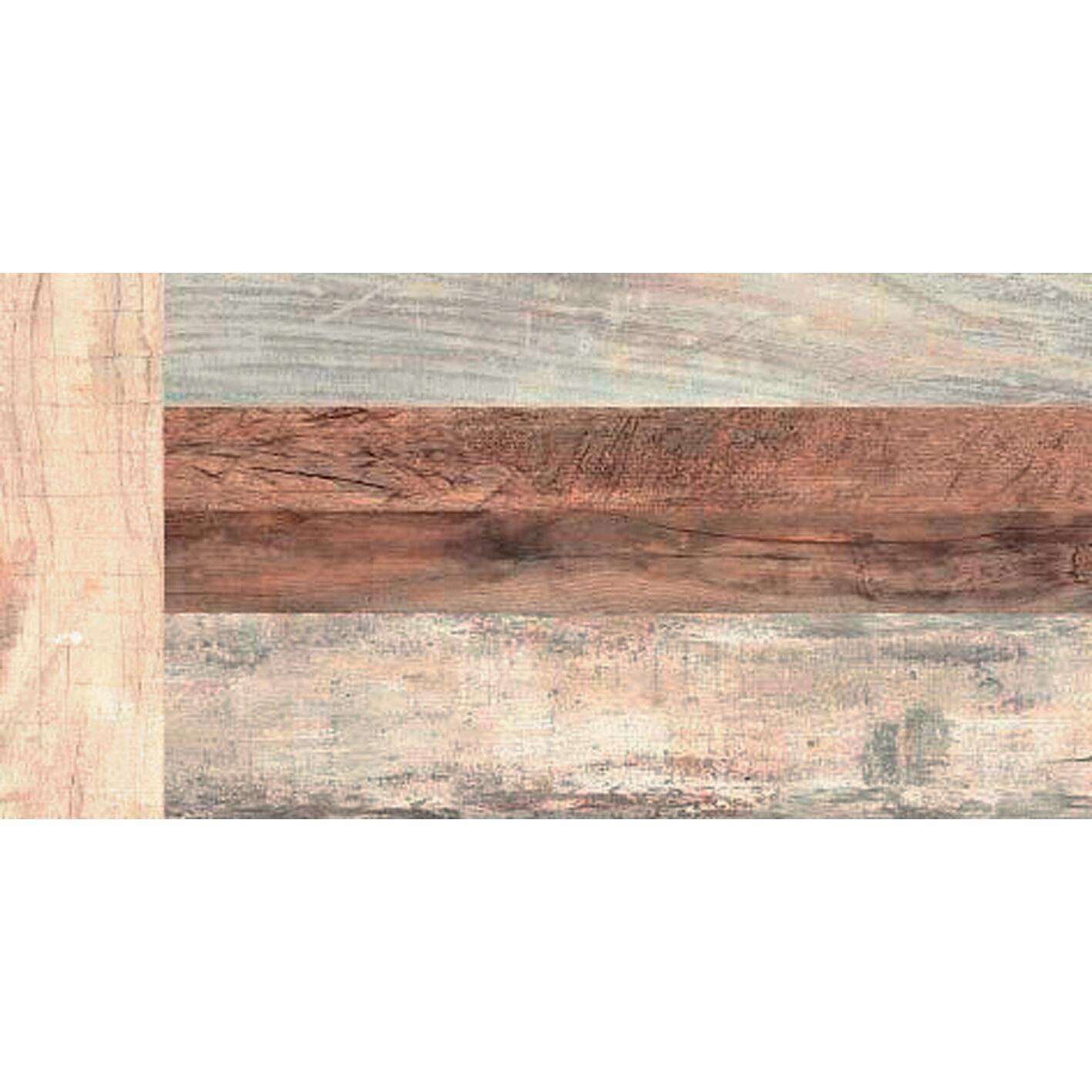 Piastrella Wood and City 30.8 x 61.5 cm sp. 7.5 mm PEI 4/5 multicolore - 2