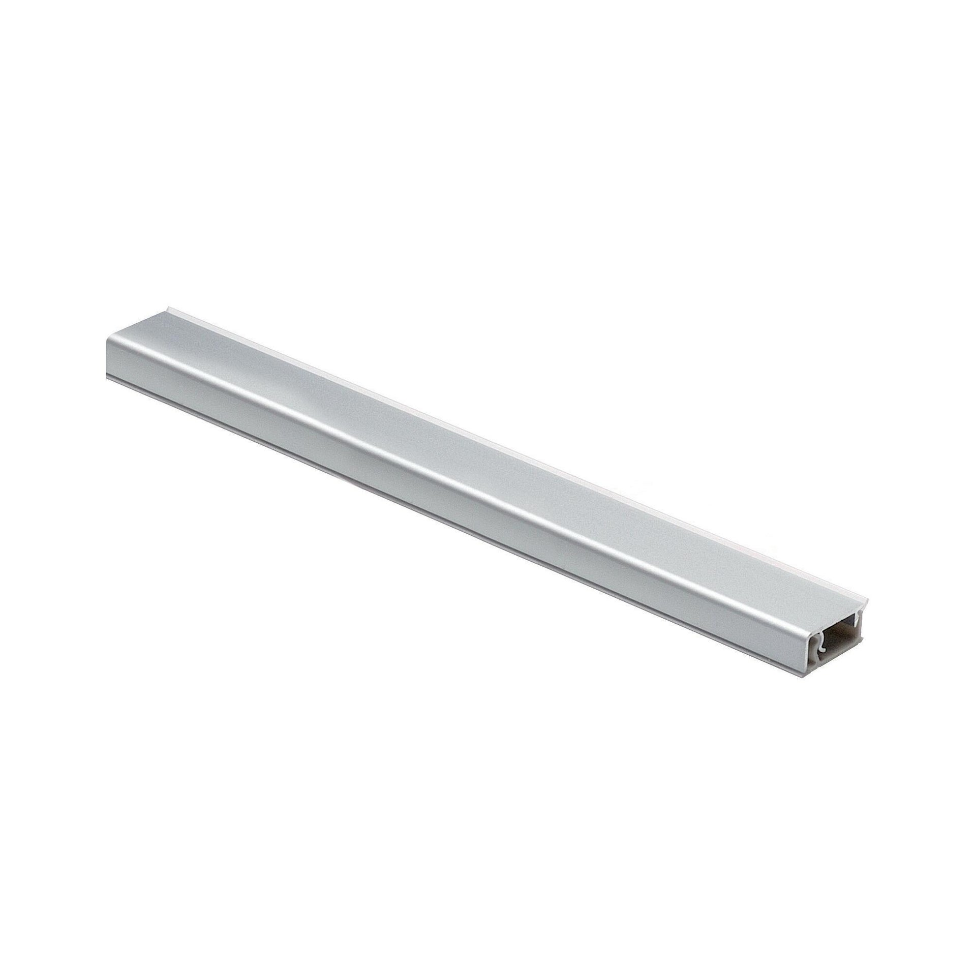 Alzatina alluminio grigio L 300 x Sp 1.2 cm