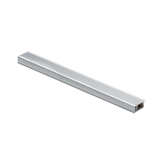Alzatina alluminio grigio L 300 x Sp 1.2 cm - 1
