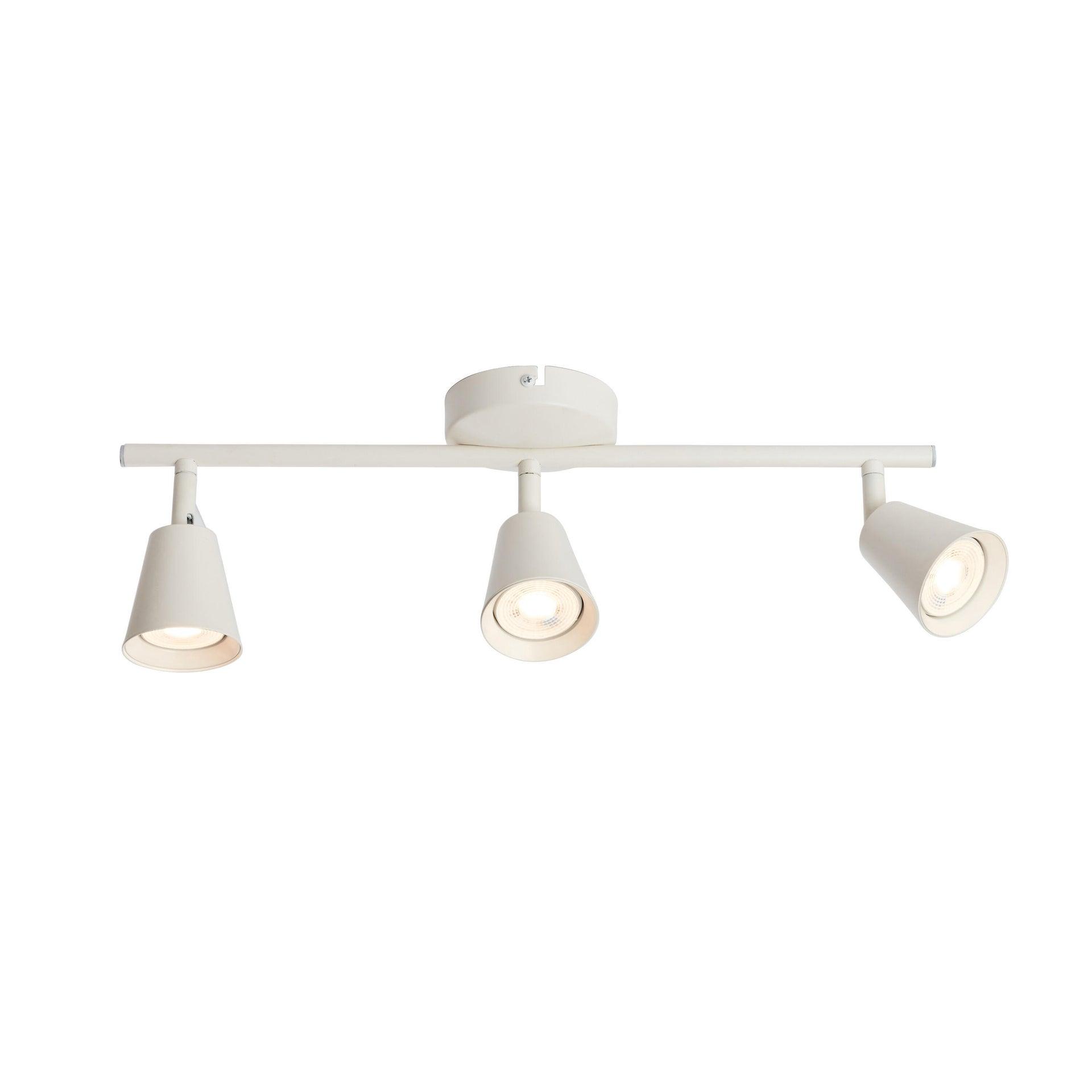 Barra di faretti Chapo bianco, in metallo, LED integrato 3.5W 840LM IP20 INSPIRE - 3