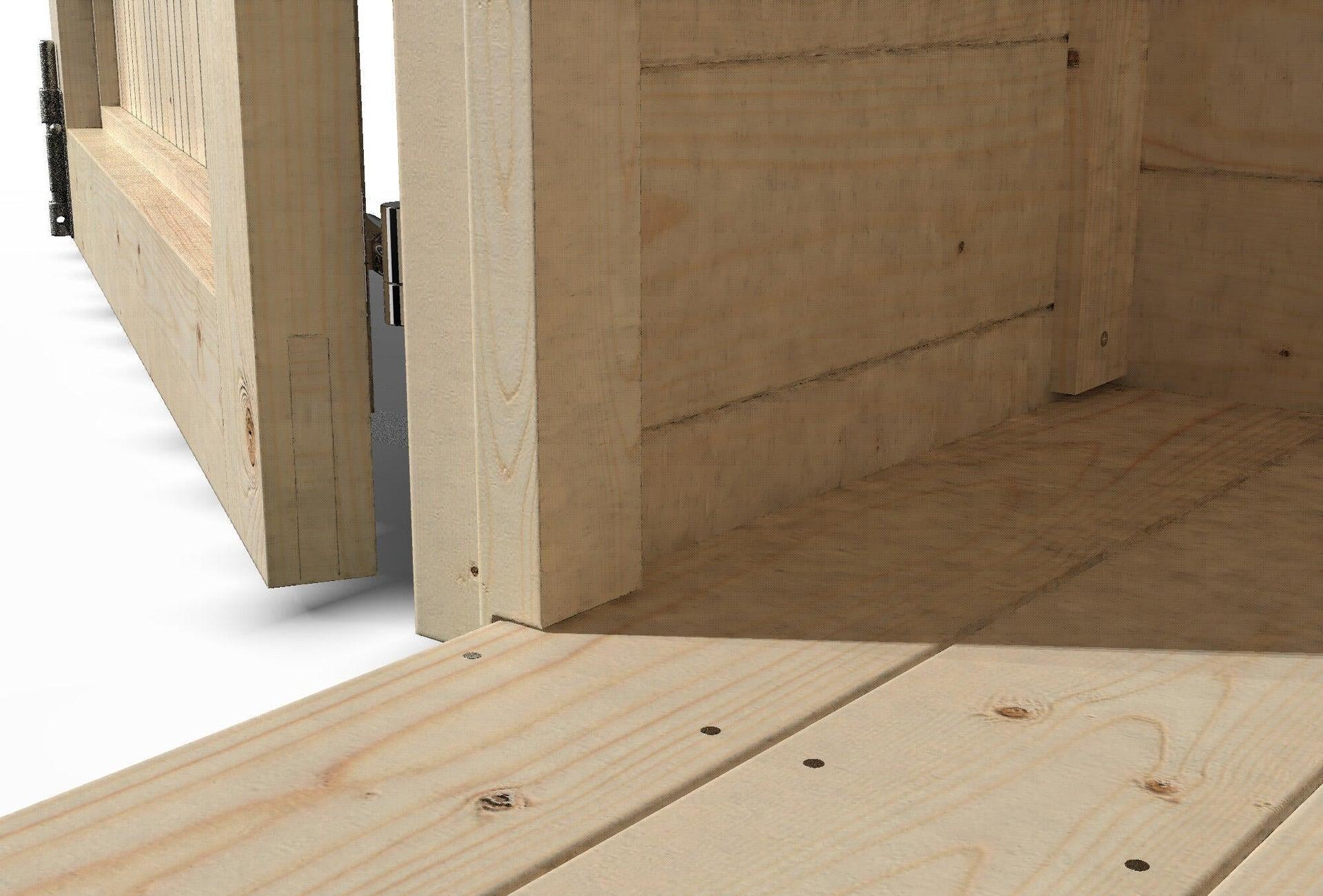 Pavimento per casetta da giardino Primula DECOR ET JARDIN 242.8 x 270 x 45 cm - 3