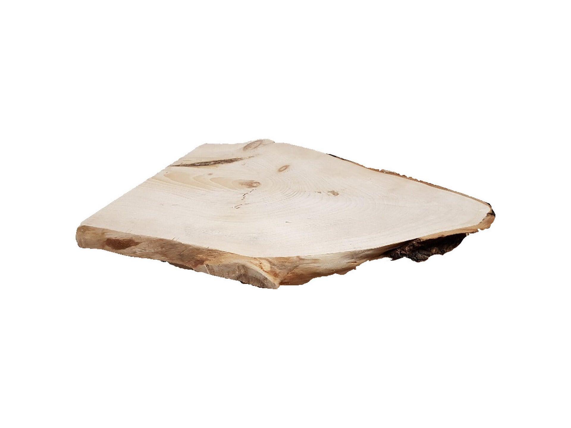 Sagoma decorativa triangolo in abete grezzo - 2