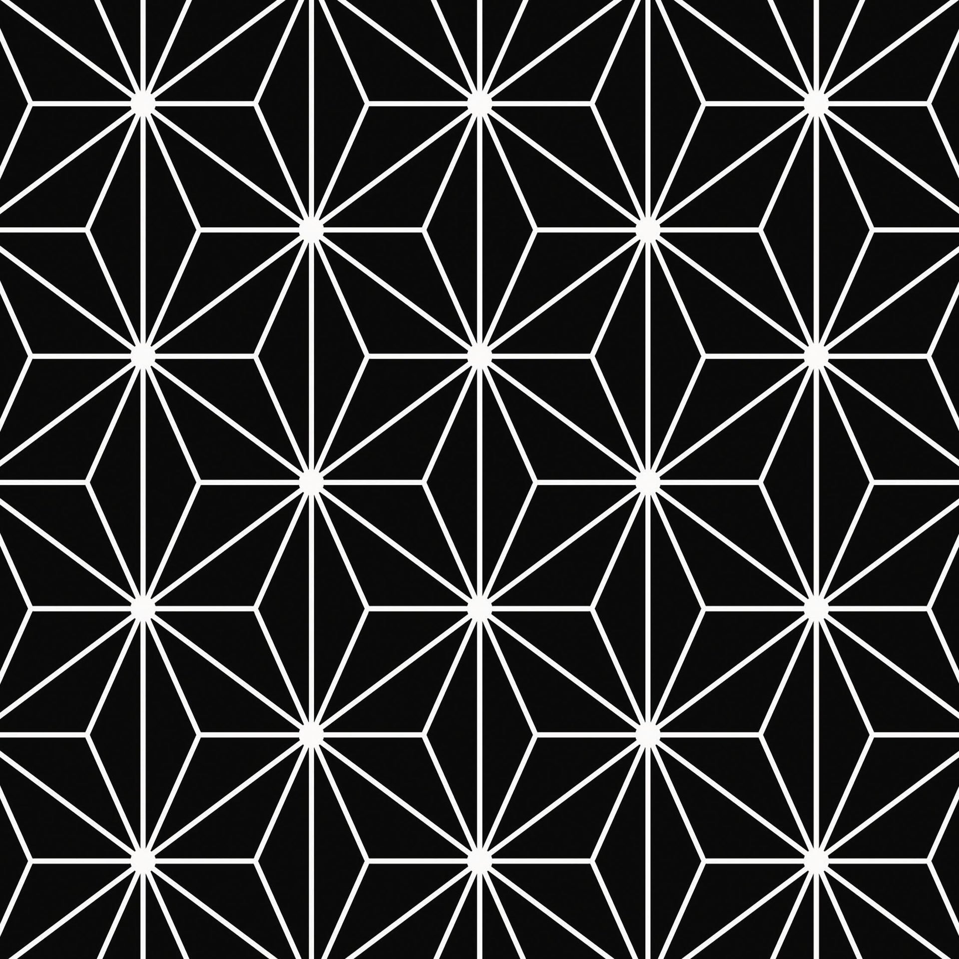 Piastrella decorativa Astuce 20 x 20 cm sp. 6.5 mm nero - 2