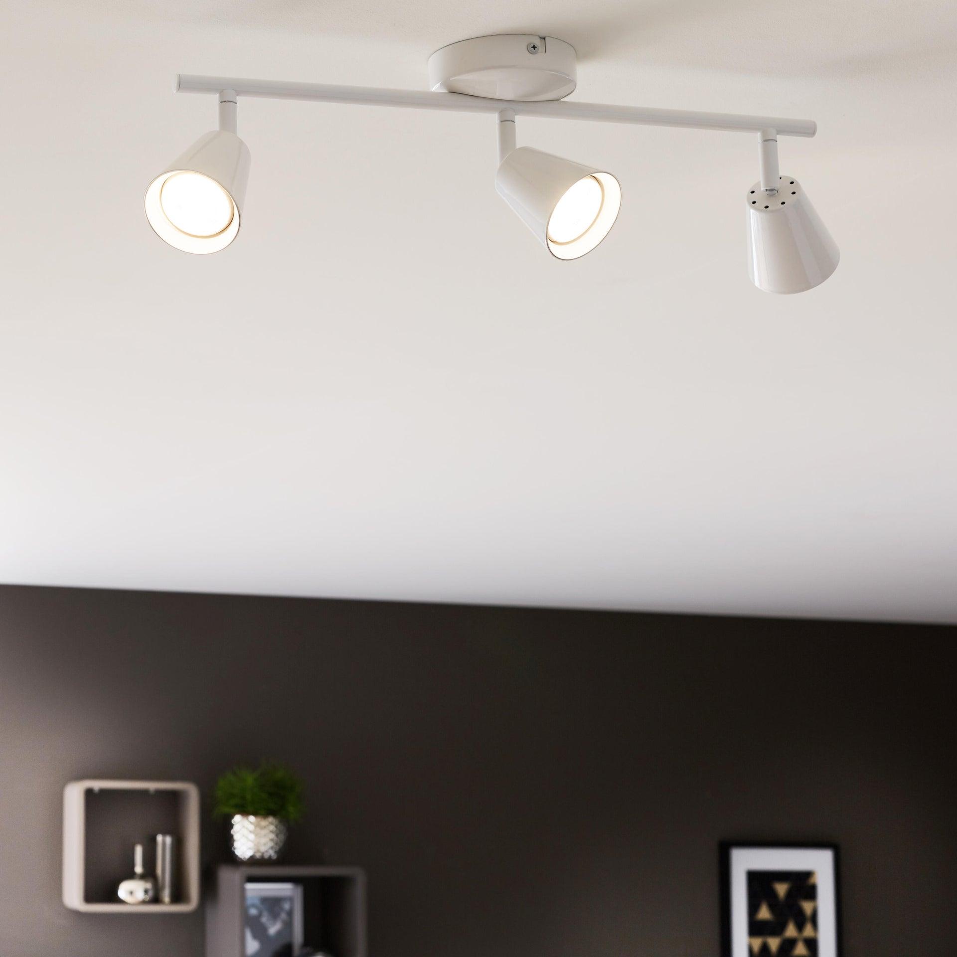 Barra di faretti Chapo bianco, in metallo, LED integrato 3.5W 840LM IP20 INSPIRE - 1