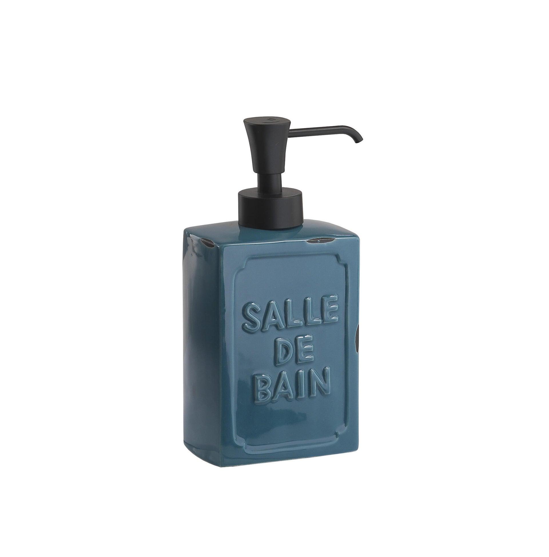 Dispenser sapone Vivienne blu - 1