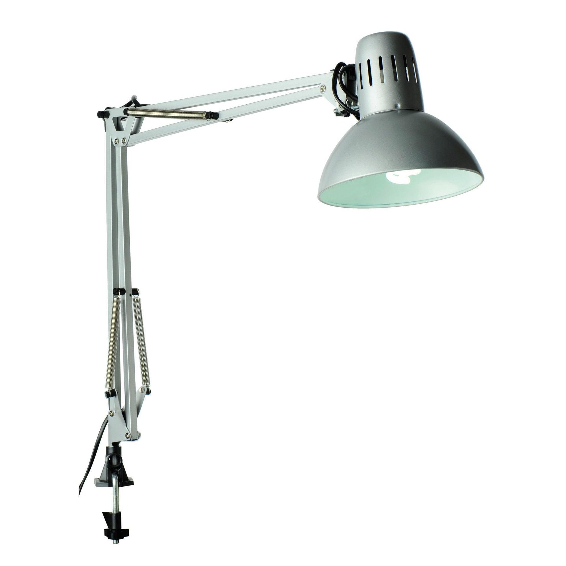 Lampada da scrivania Industriale Arquitecto grigio , in metallo, INSPIRE - 5