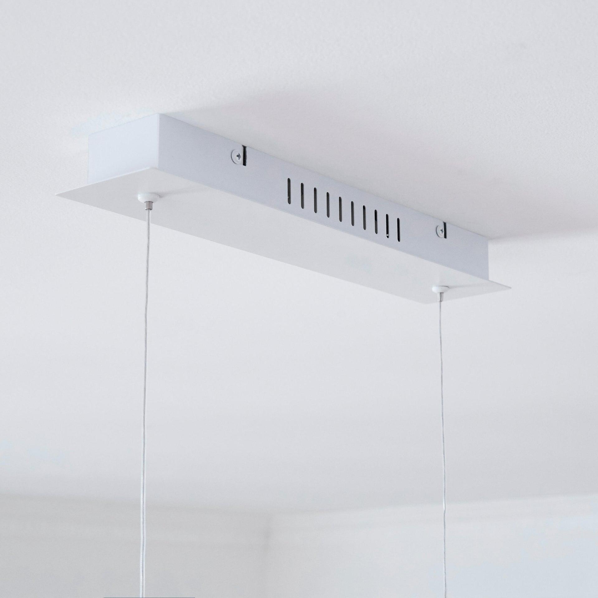 Lampadario Scandinavo Namu LED integrato legno, in legno, L. 118 cm, INSPIRE - 2