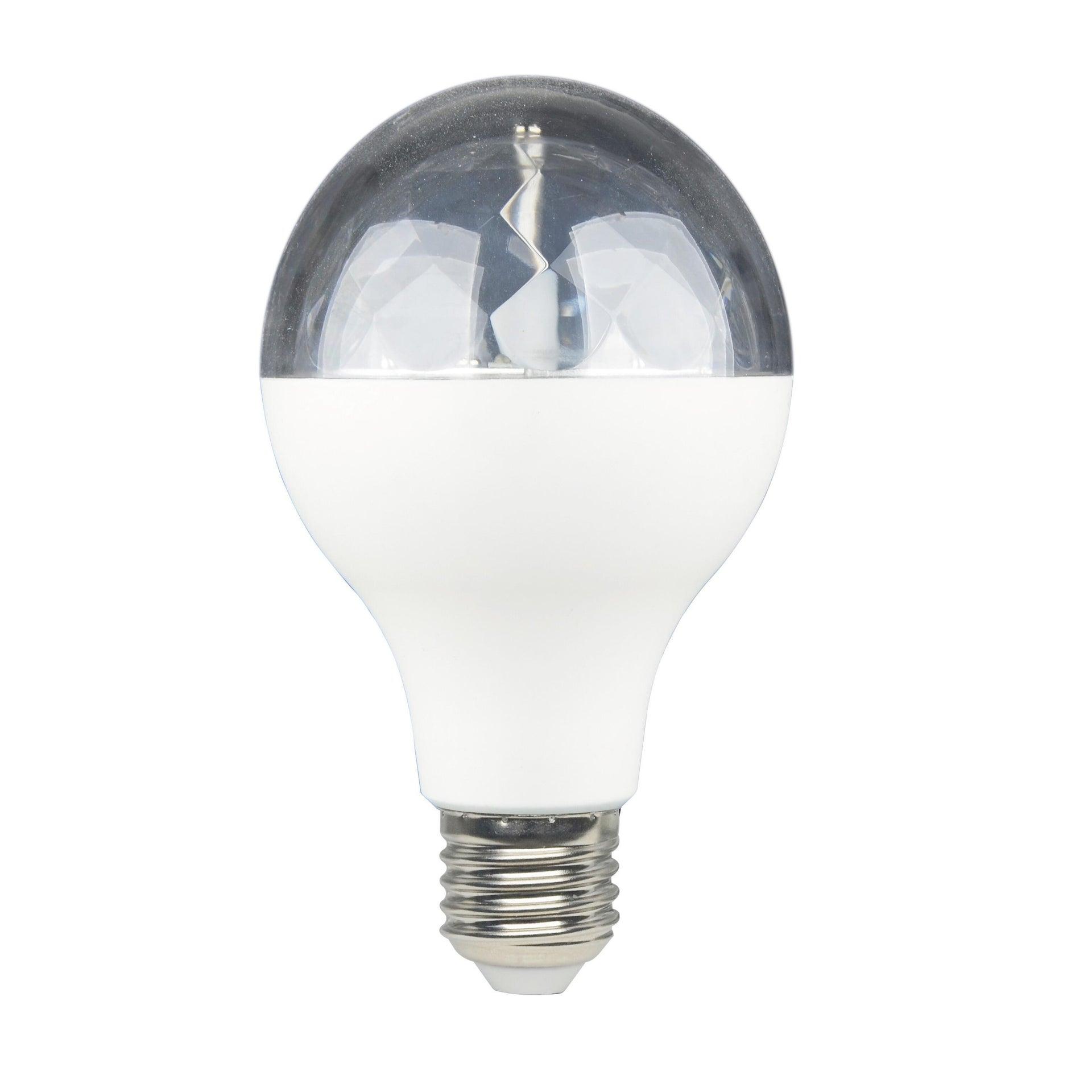 Lampadina LED, E27, Goccia, Trasparente, RGB, 5W=250LM (equiv 5 W), 360° , LEXMAN - 1