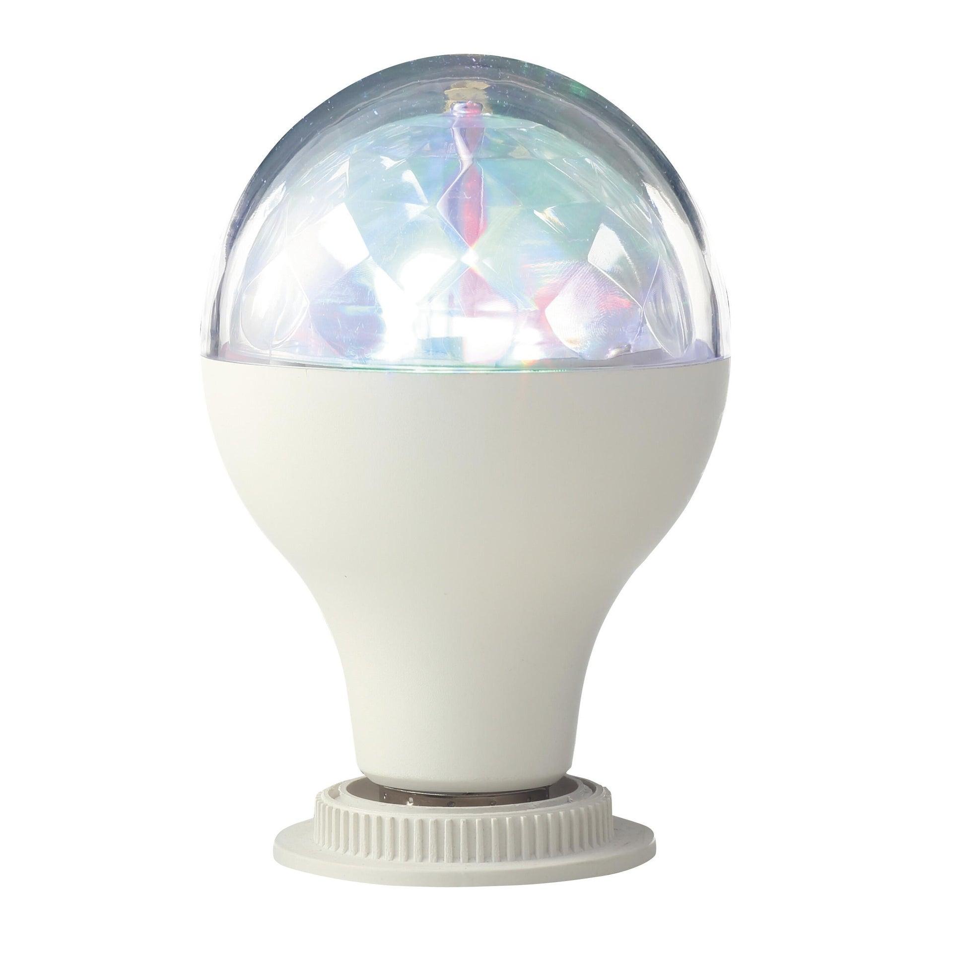 Lampadina LED, E27, Goccia, Trasparente, RGB, 5W=250LM (equiv 5 W), 360° , LEXMAN - 2