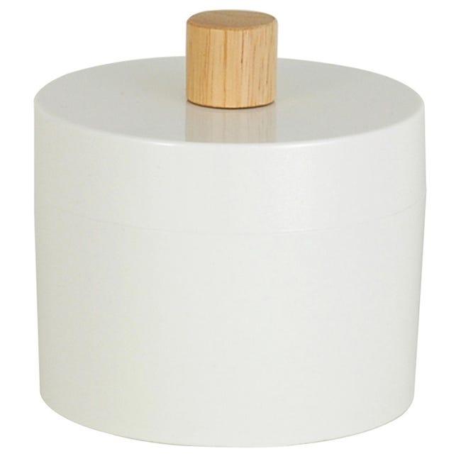 Porta cotone Scandi in plastica bianco SENSEA - 1