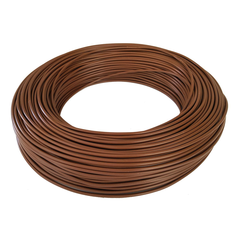 Cavo elettrico marrone FS17 1 filo x 1,5 mm² 100 m BALDASSARI CAVI Matassa