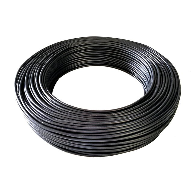Cavo elettrico nero fs17 1 filo x 2,5 mm² 100 m BALDASSARI CAVI Matassa - 1