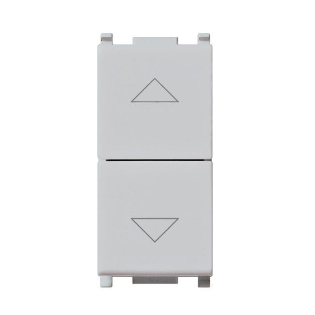 Commutatore Plana VIMAR grigio / argento - 1