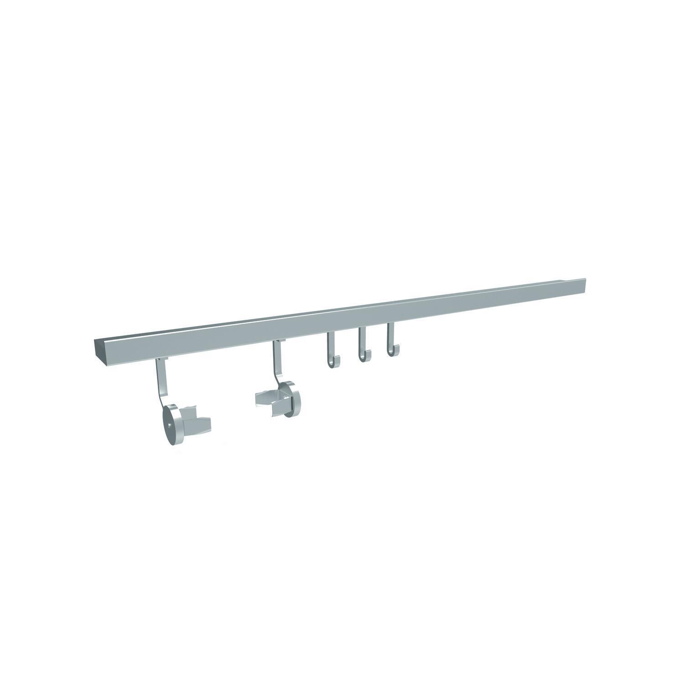 Barra sottopensile Level 90 in alluminio 90 x 6 x 3 cm - 4