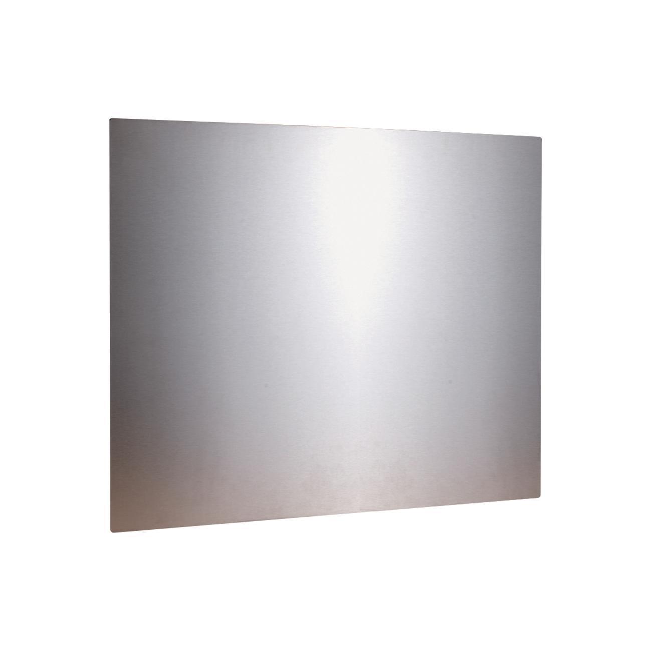 Pannello decorativo della cucina in inox L 90 x H 50 cm - 2