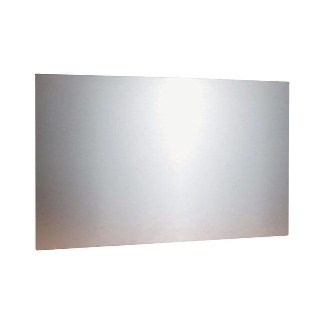 Pannello decorativo della cucina in inox L 90 x H 50 cm - 1