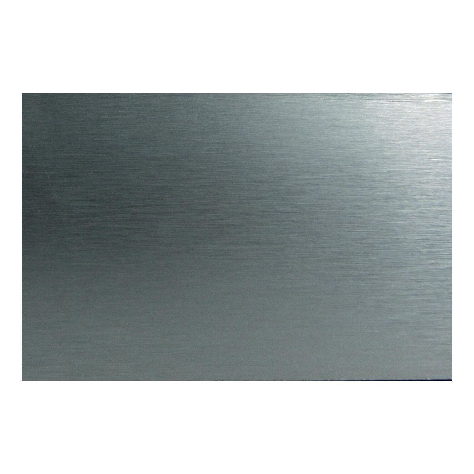 Pannello decorativo della cucina in alluminio L 300 x H 64 cm