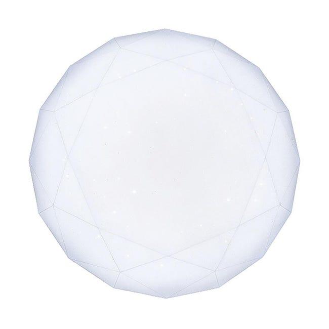 Plafoniera moderno Tammy LED integrato bianco D. 60 cm - 1