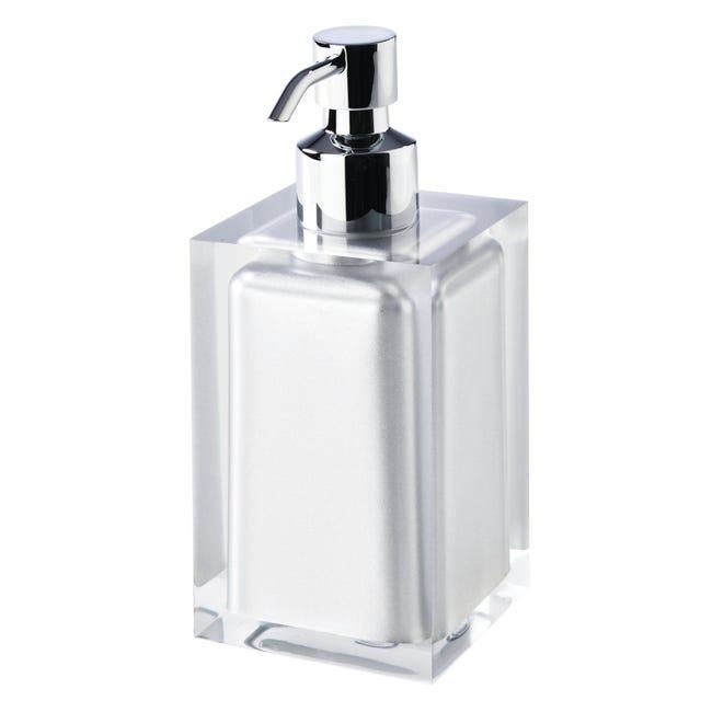 Dispenser sapone Rainbow argento - 1