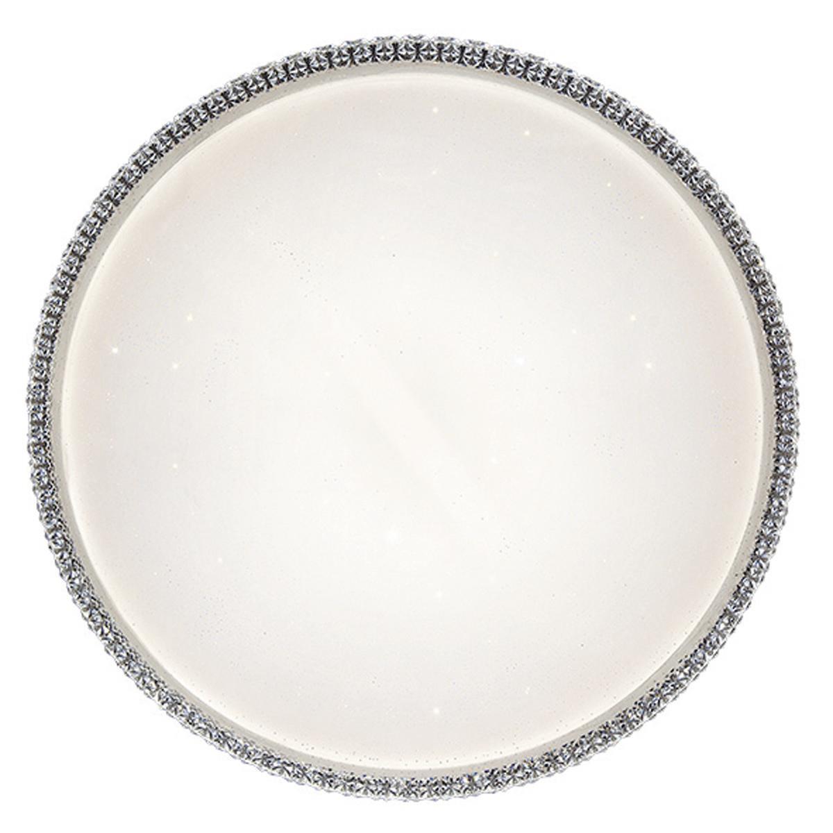 Plafoniera neoclassico Soledad LED integrato bianco D. 60 cm - 4