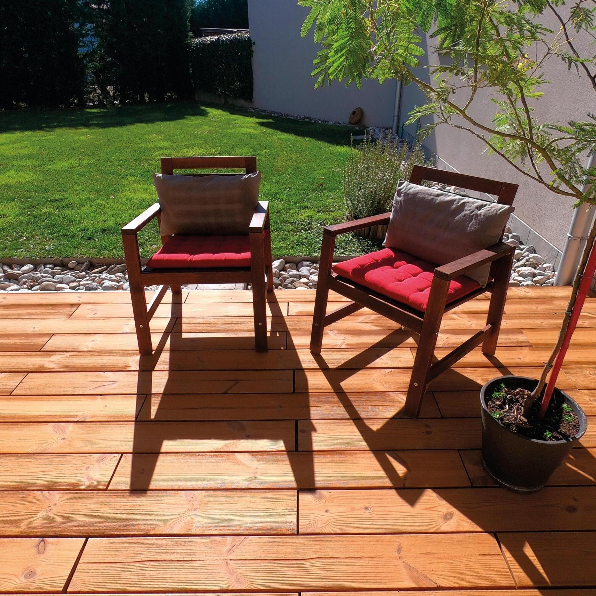 Listone da incastro in legno L 120 x H 15 cm, Sp 20.5 mm marrone - 15