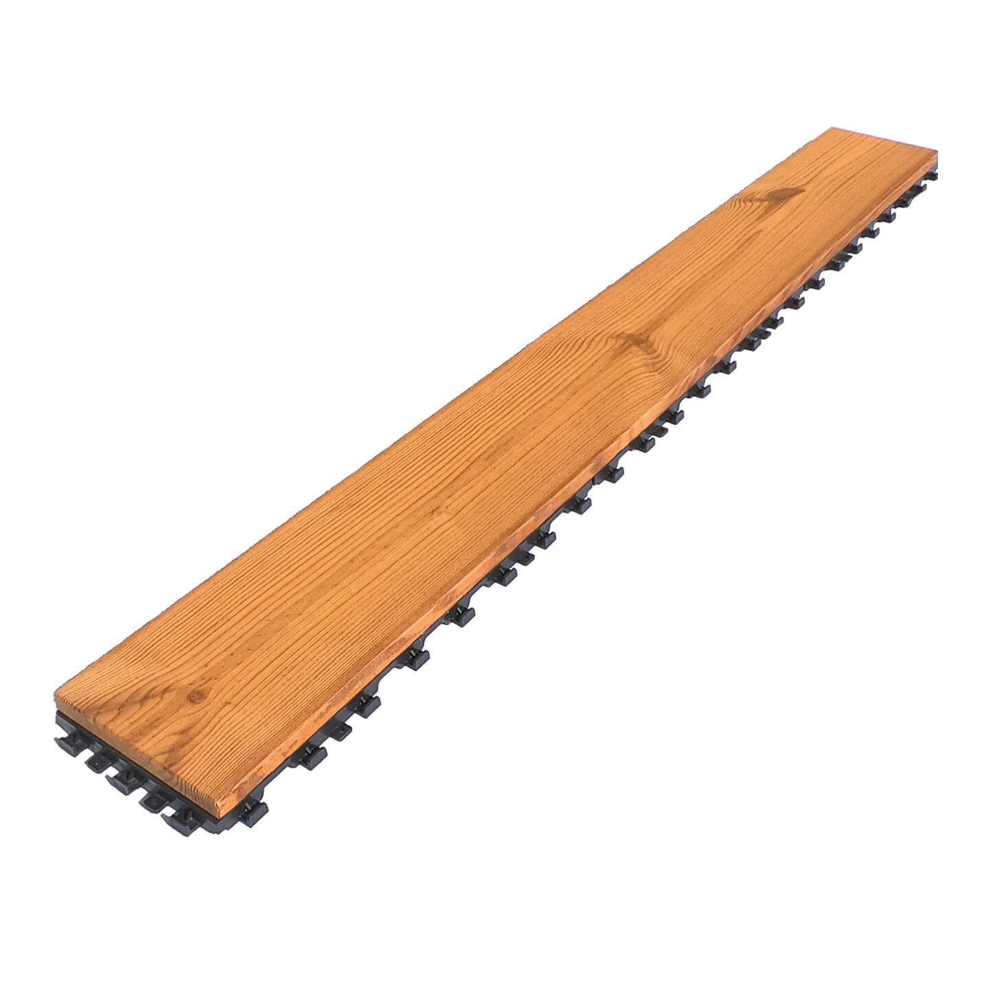 Listone da incastro in legno L 120 x H 15 cm, Sp 20.5 mm marrone - 17
