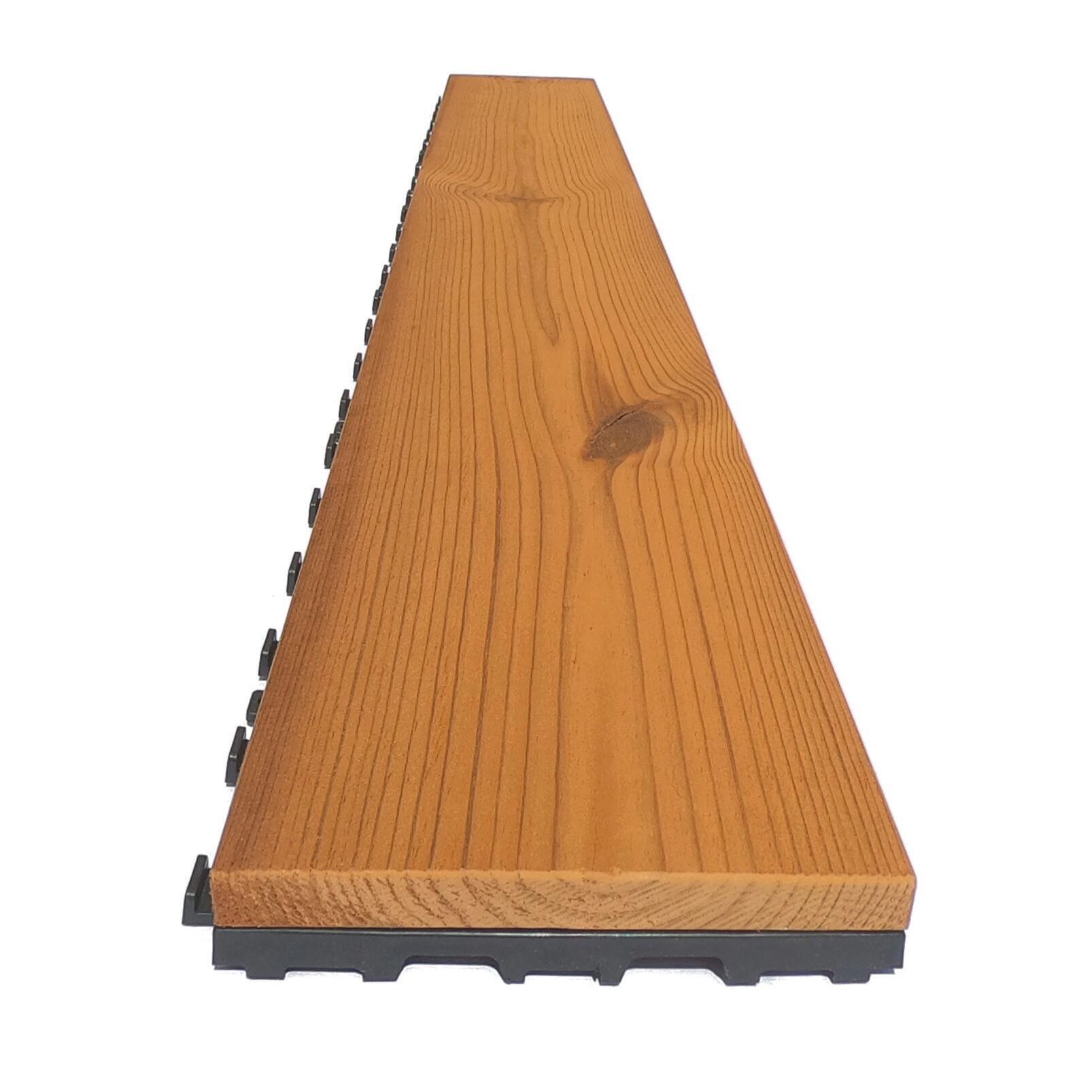 Listone da incastro in legno L 120 x H 15 cm, Sp 20.5 mm marrone - 20