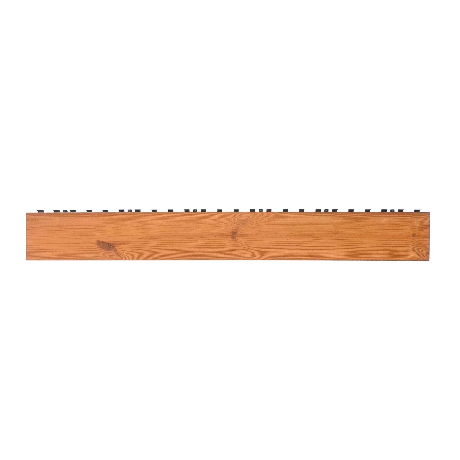 Listone da incastro in legno L 120 x H 15 cm, Sp 20.5 mm marrone - 7