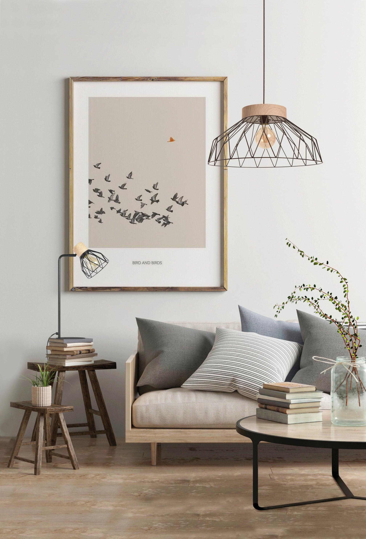 Lampada da tavolo Scandinavo Clayton nero , in legno, SEYNAVE - 3