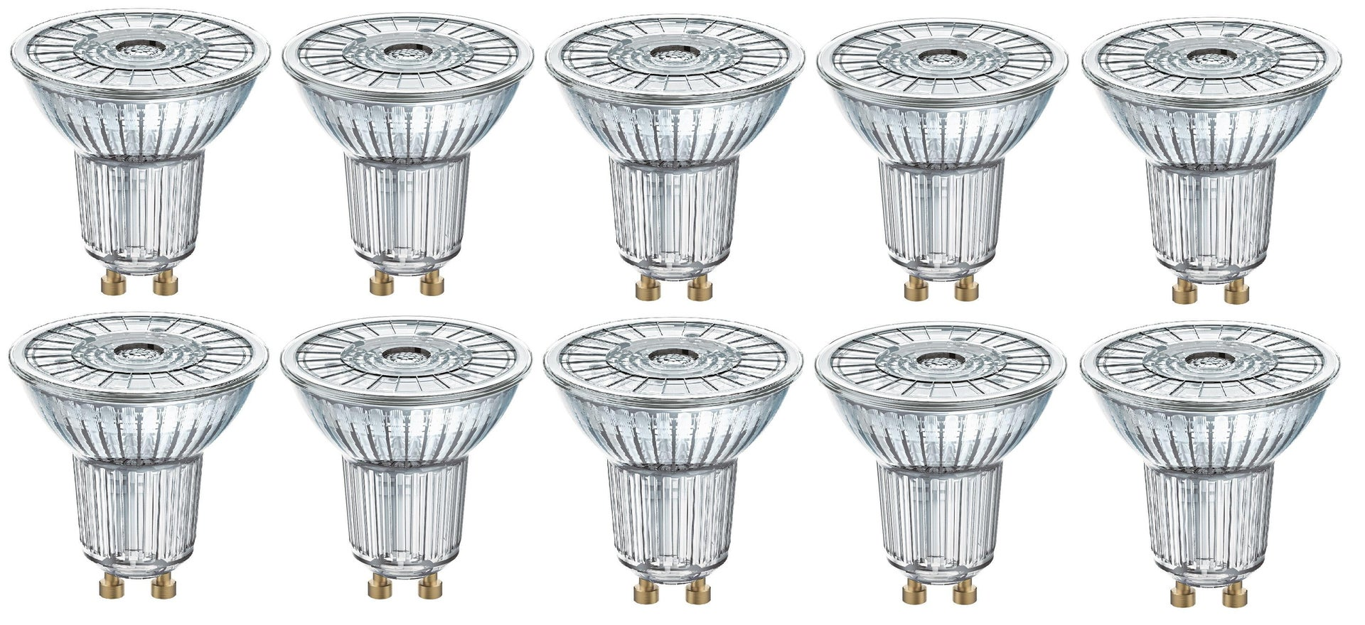 Lampadina LED, GU10, Faretto, Trasparente, Luce calda, 4.3W=350LM (equiv 50 W), 36° , OSRAM - 2