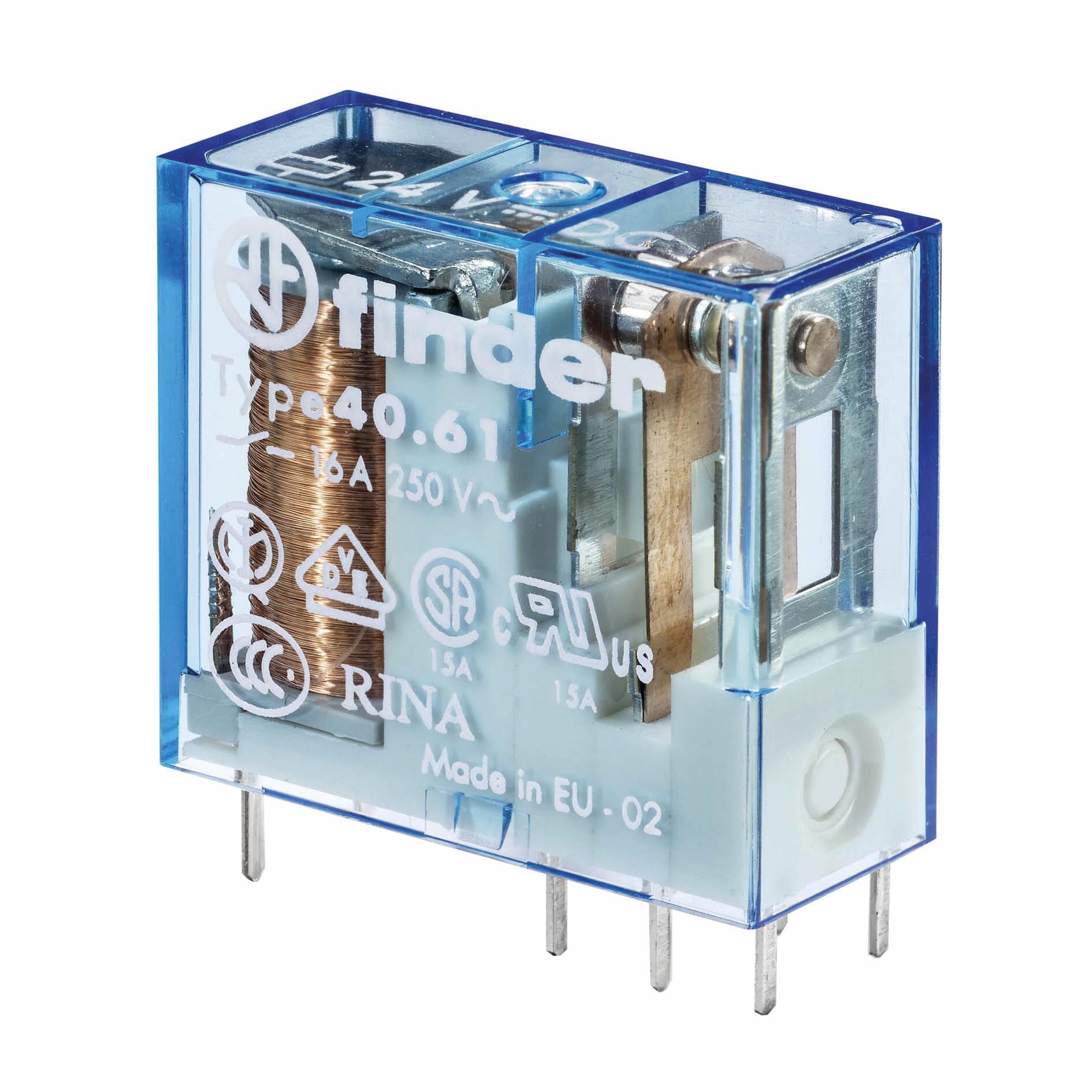 Relè FINDER 406180120000 10A 1 modulo 12V