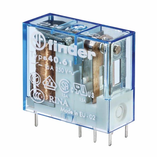 Relè FINDER 406180120000 10A 1 modulo 12V - 1