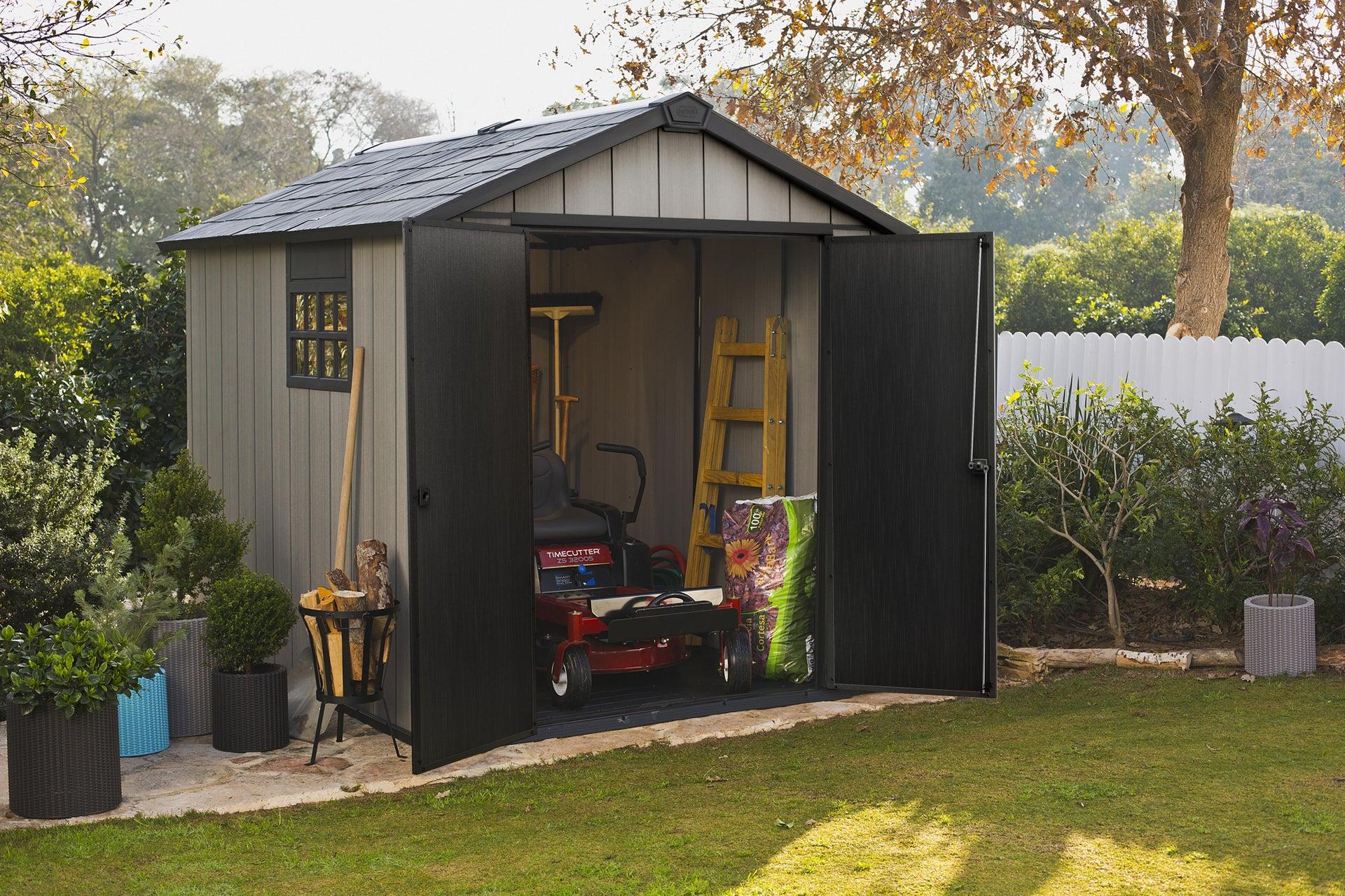 Casetta da giardino in polipropilene Oakland 759 KETER, superficie interna 5.25 m² e spessore parete 20 mm - 6