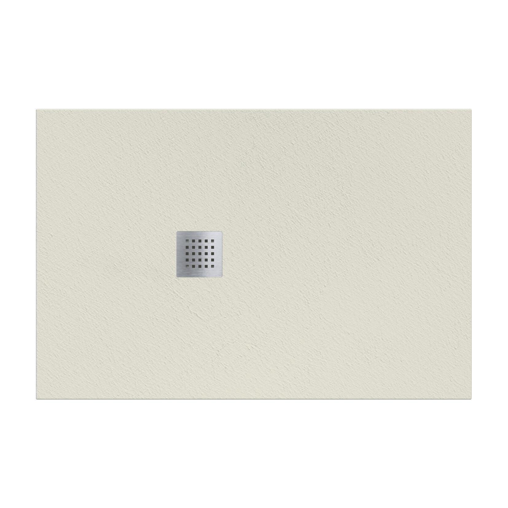 Piatto doccia resina Strato 180 x 100 cm crema