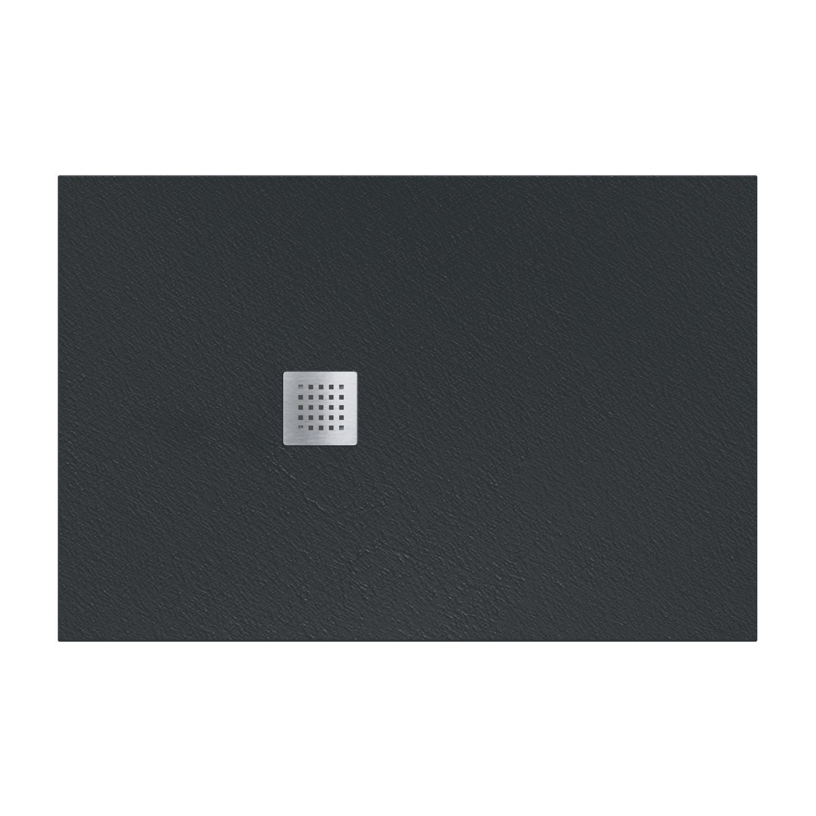 Piatto doccia resina Strato 180 x 100 cm nero