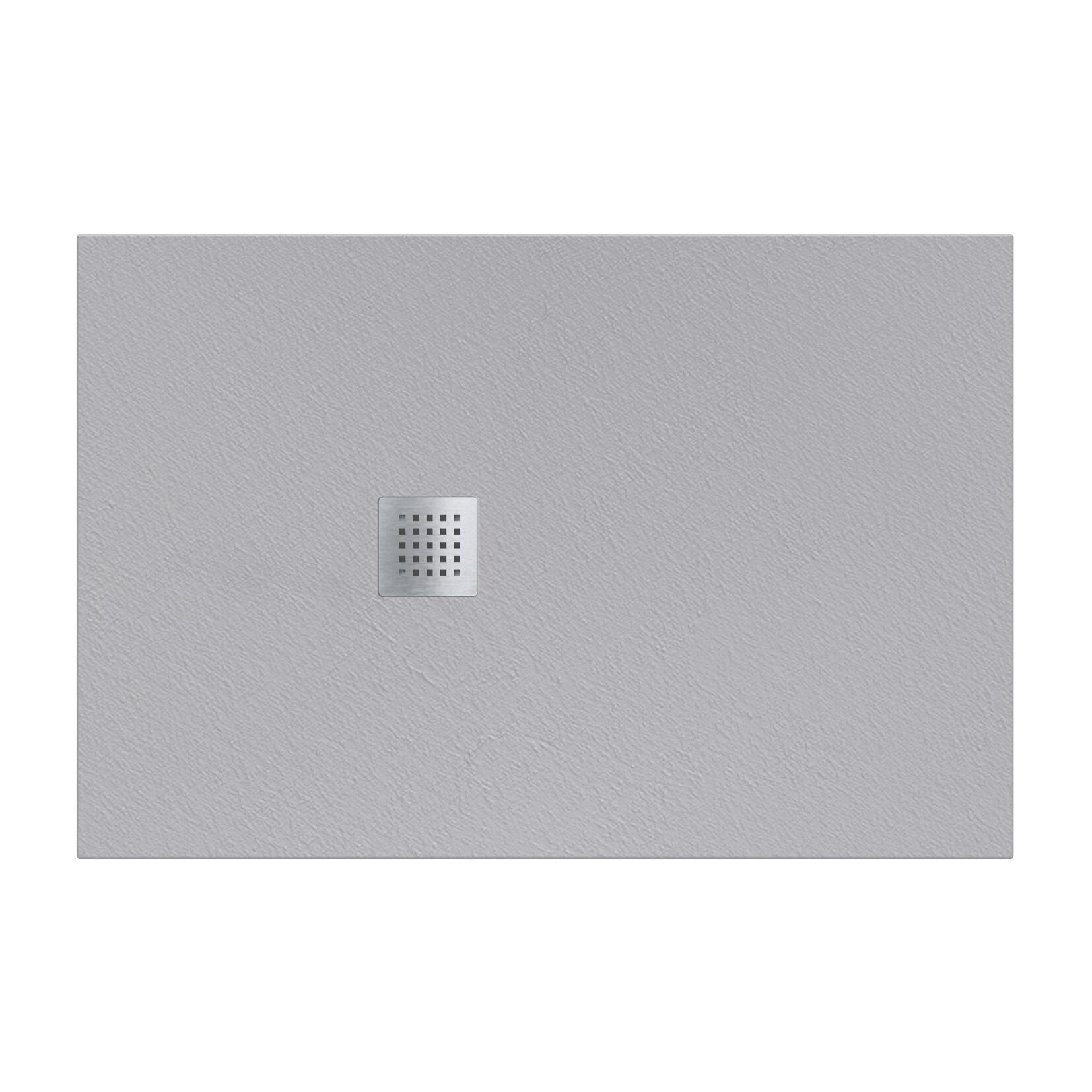 Piatto doccia resina Strato 180 x 80 cm grigio