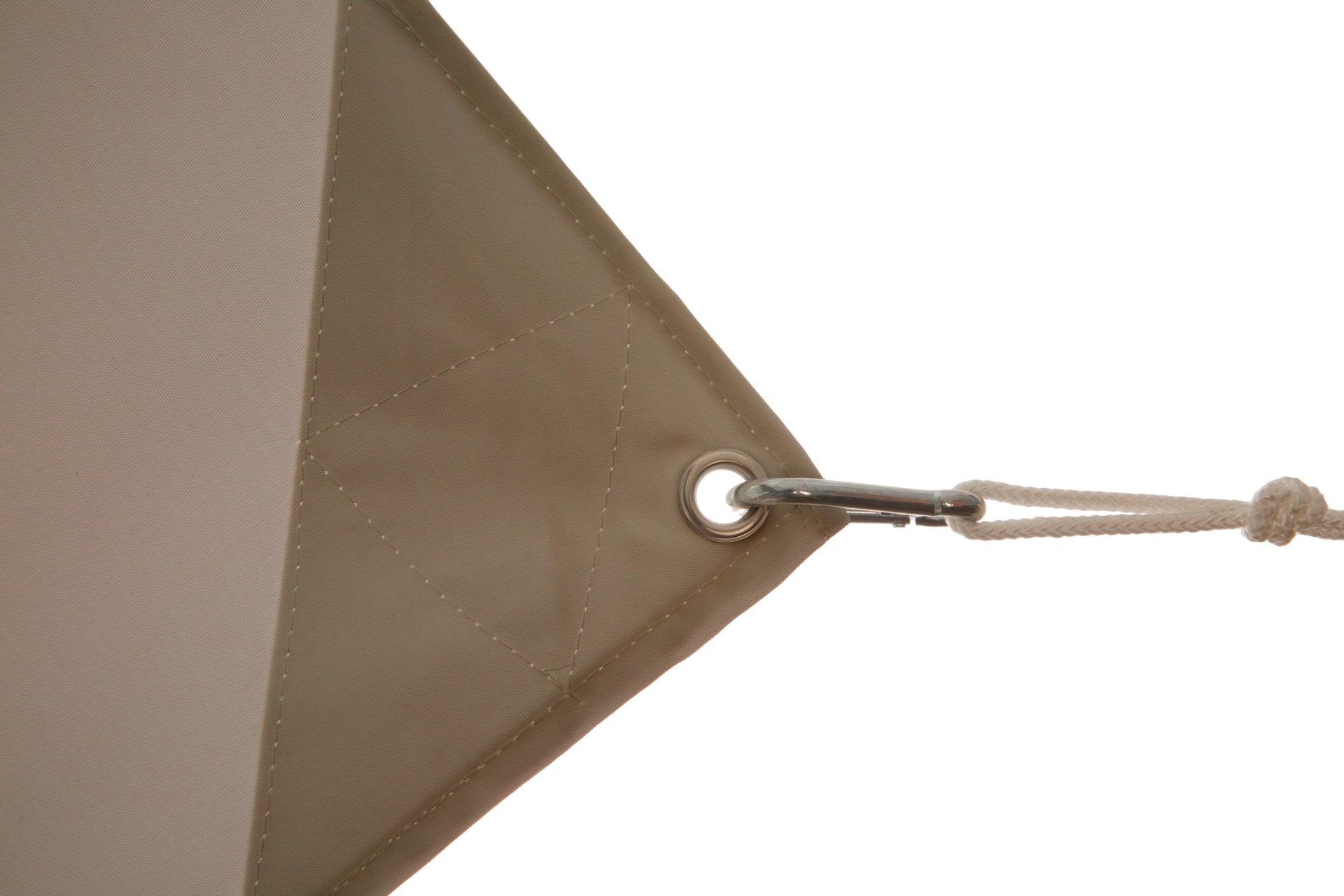 Vela ombreggiante Shade rettangolare tortora 300 x 400 cm - 7