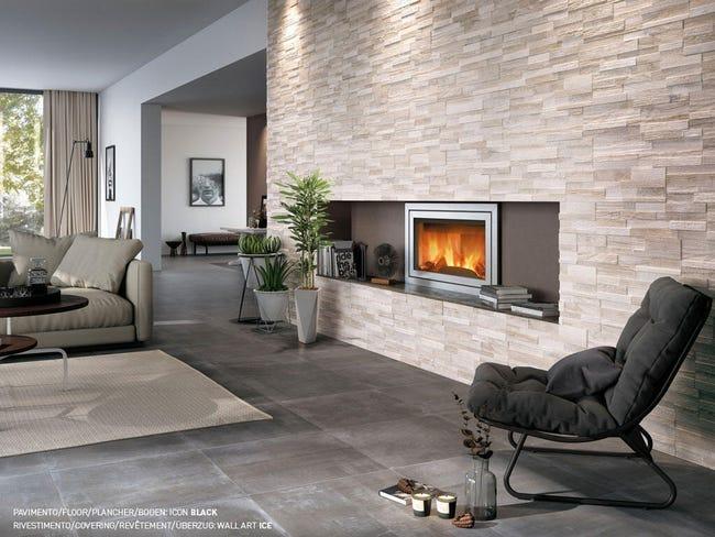Piastrella Wall Art Ice 15 x 61 cm sp. 11 mm PEI 1/5 grigio - 1