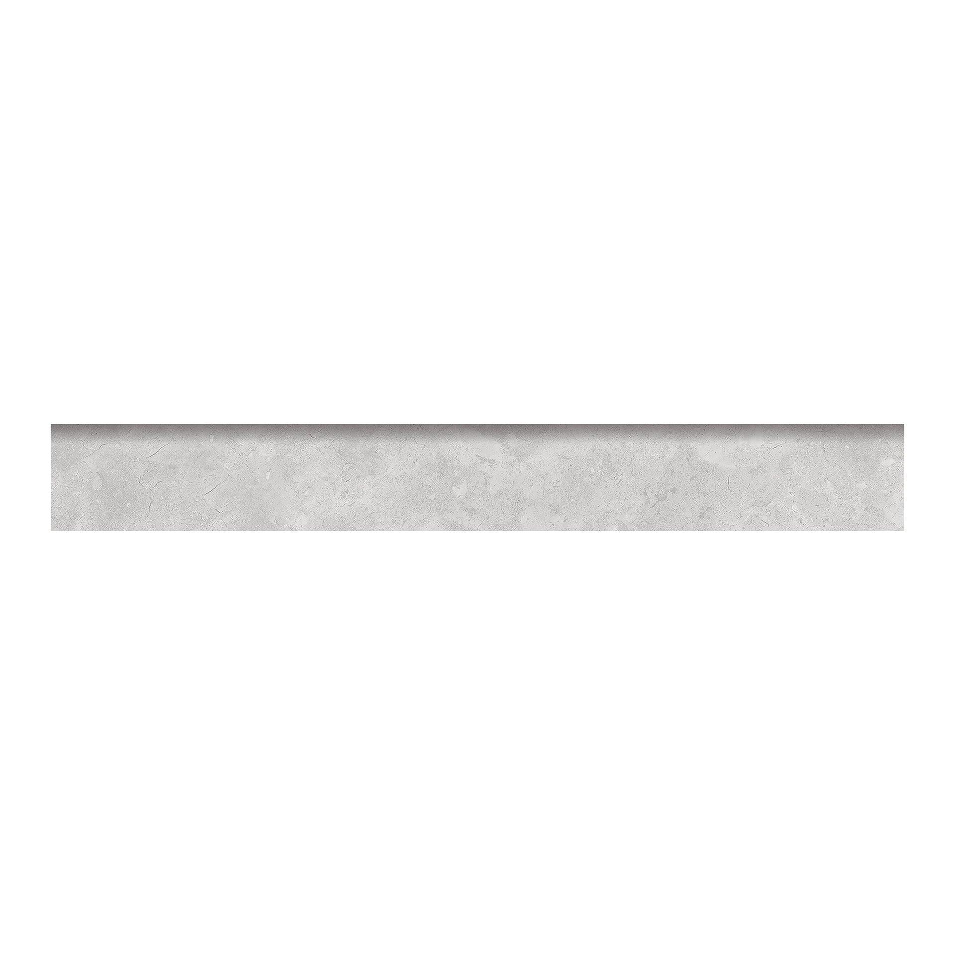 Battiscopa con becco a civetta Remix concrete H 7.5 x L 60 cm grigio - 2