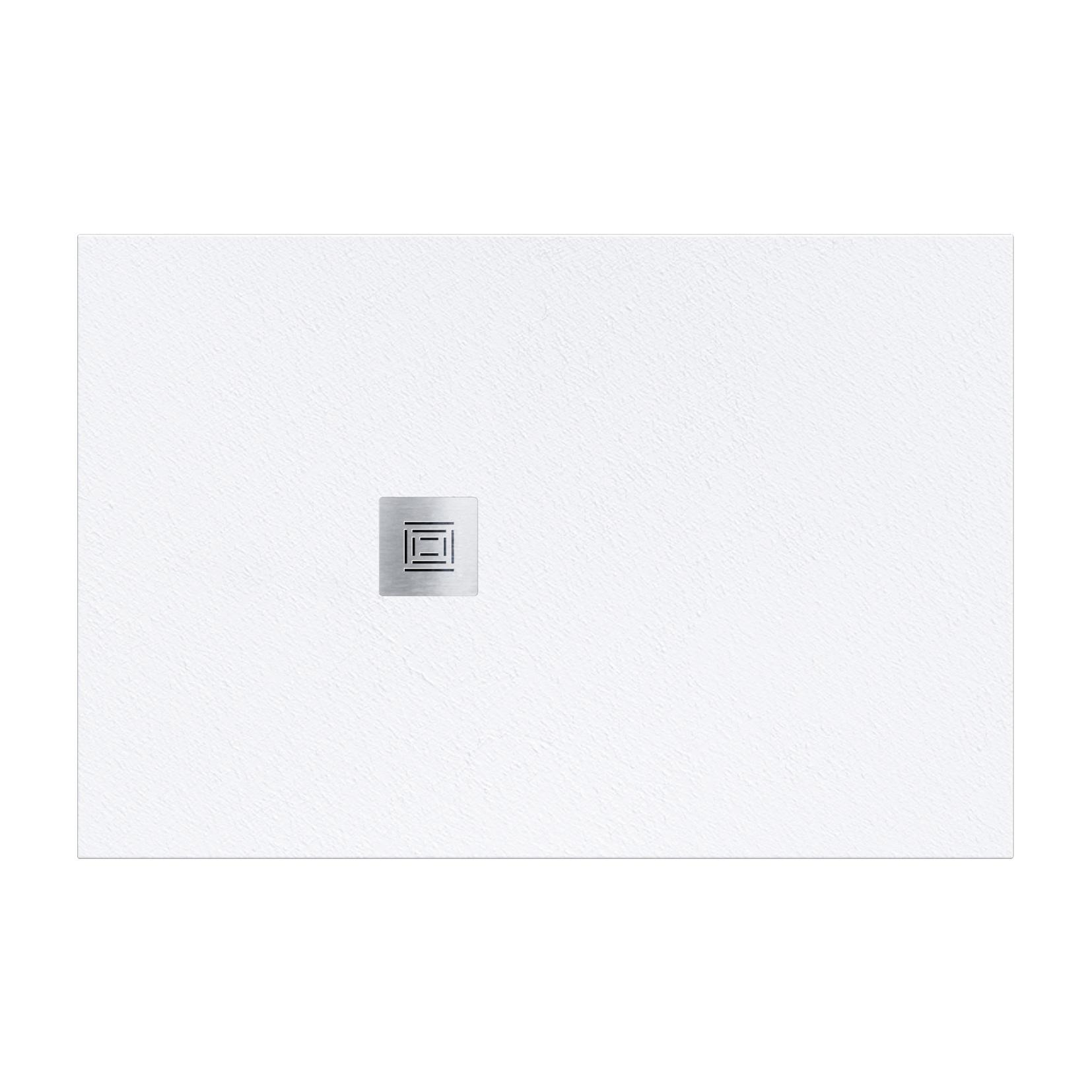 Piatto doccia resina Logic 70 x 120 cm bianco - 2