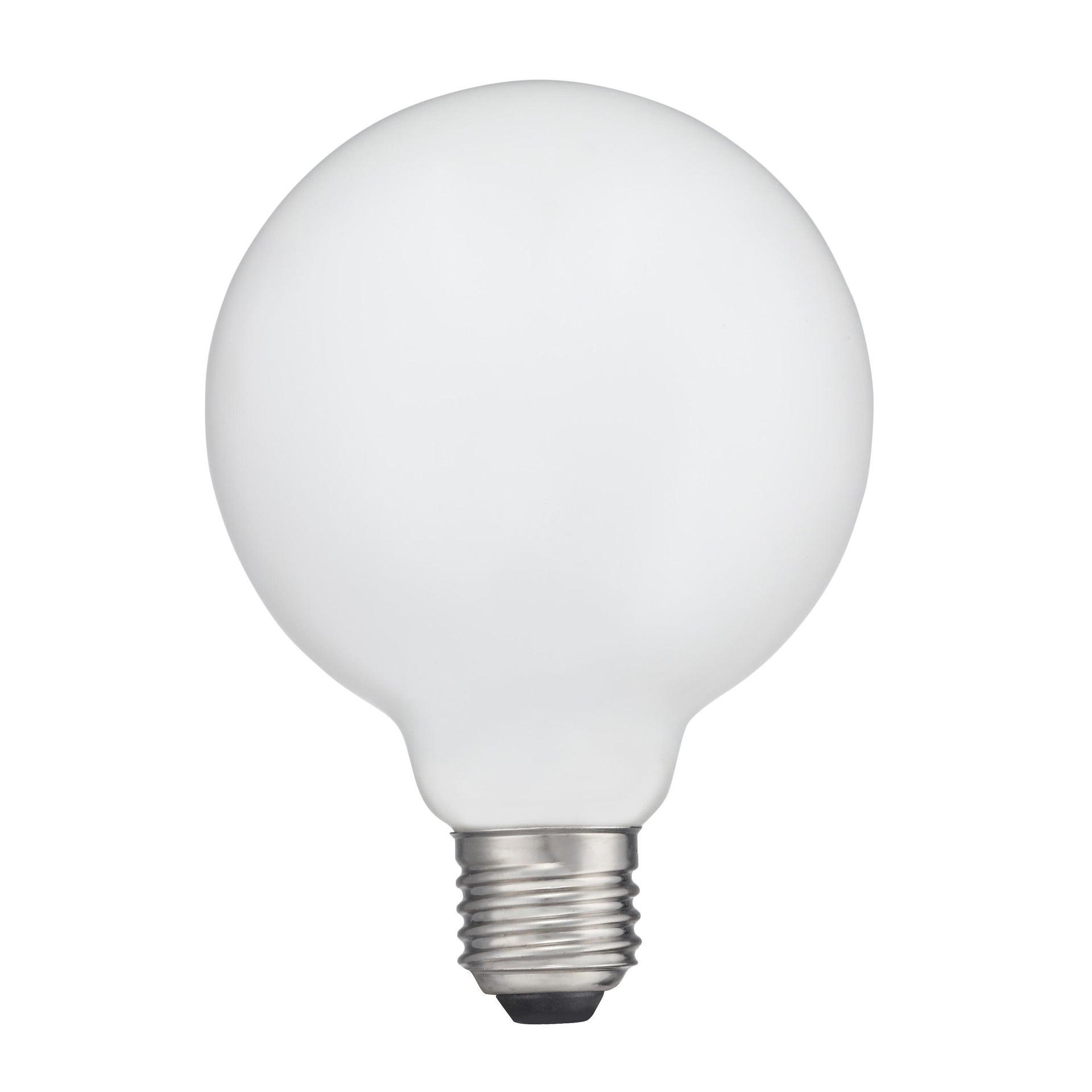Lampadina LED, E27, Globo, Opaco, Luce naturale, 12W=1521LM (equiv 100 W), 360° , LEXMAN - 3