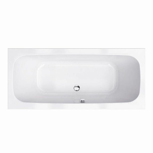 Pannello di rivestimento vasca frontale e laterale Tag acrilico bianco L 180 x H 80 cm - 1