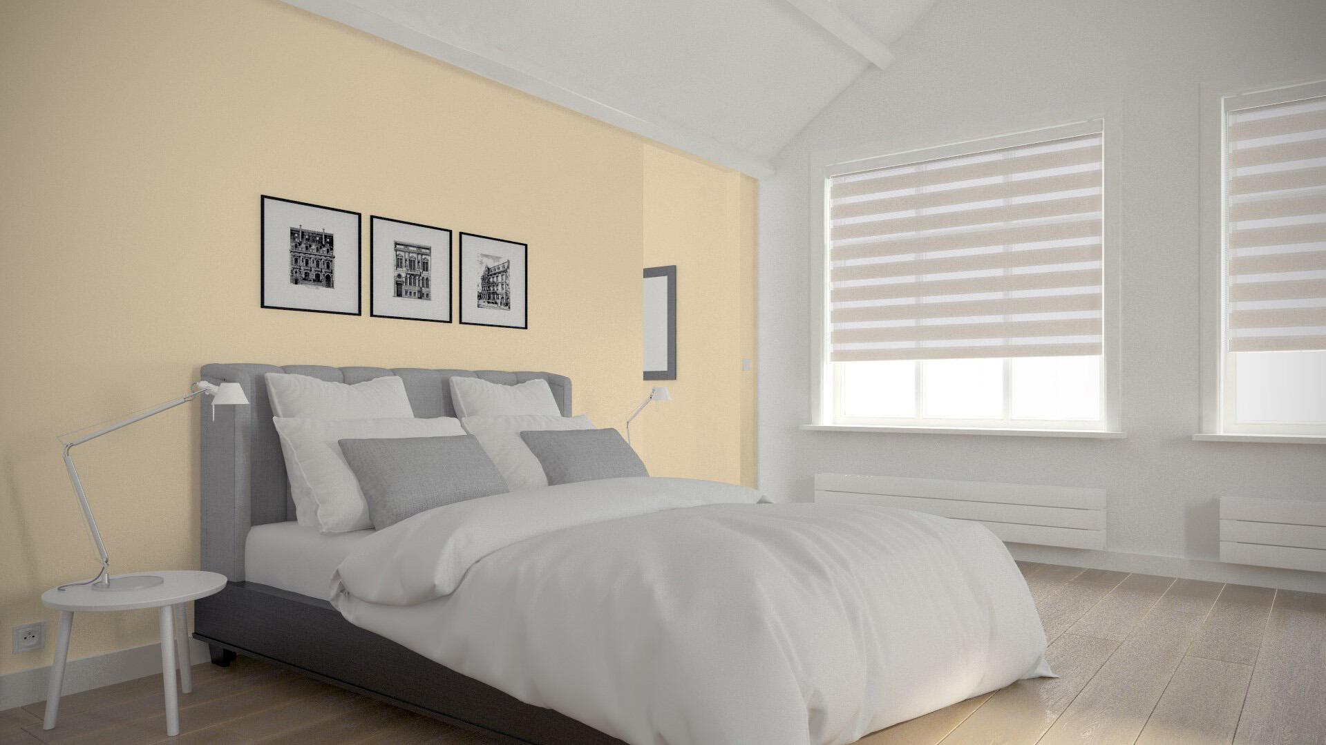 Tenda a rullo Orleans beige 90 x 190 cm - 4